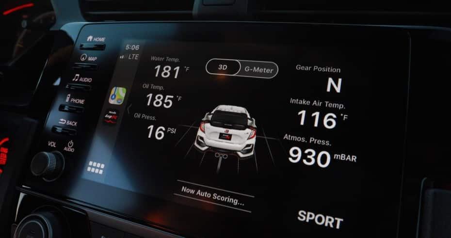 Así es Honda LogR, el nuevo sistema de toma de datos para el Civic Type R
