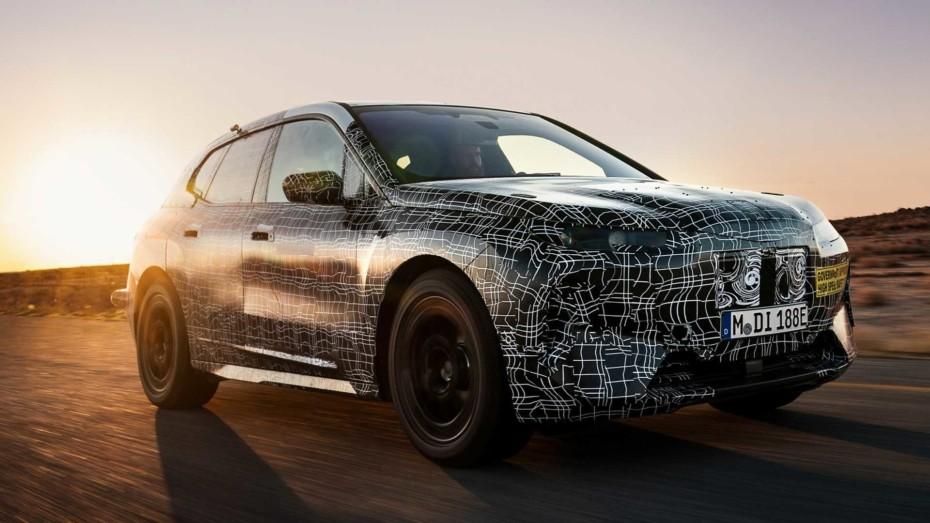 Nuevas imágenes del BMW iNext 2021: Más de 600 kilómetros con una carga y nivel 3 de autonomía