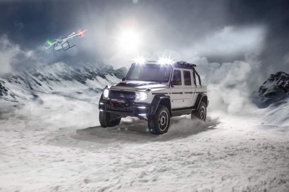 BRABUS 800 Adventure XLP: La bestia de 789 CV que debutará en Ginebra