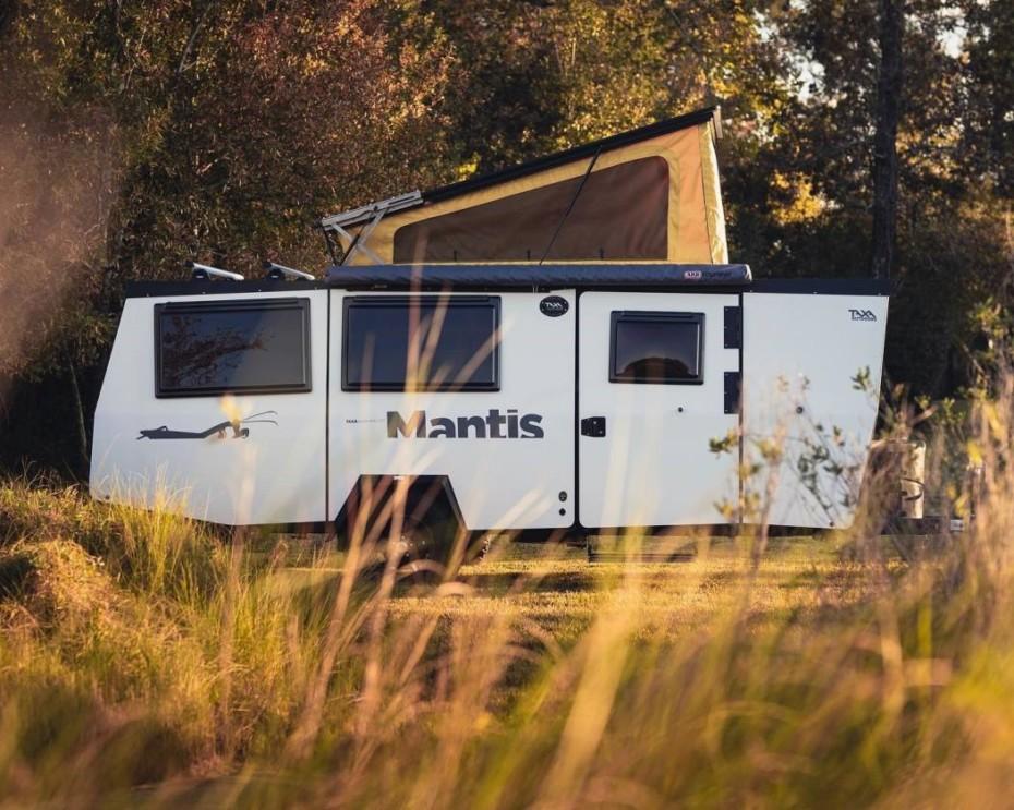 El Mantis es el buque insignia de las caravanas de Taxa Outdoors y se renueva para 2020