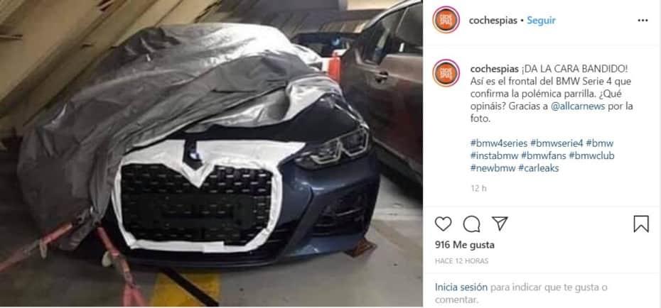 ¡Filtrado! Parece que el BMW Serie 4 2020 finalmente lucirá una polémica parrilla