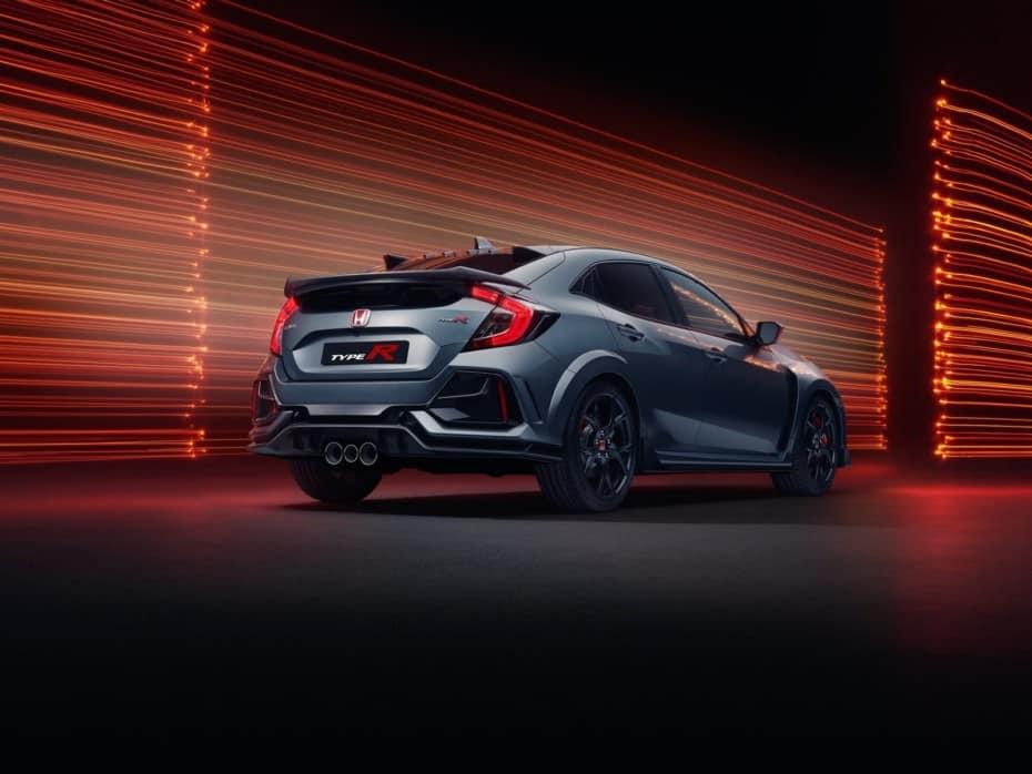 Honda Civic Type R Sport Line: Más discreto, asilado, confortable y con un alerón reducido