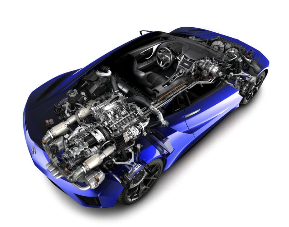 Destripando el Honda NSX: Los secretos de su mecánica híbrida con 581 CV