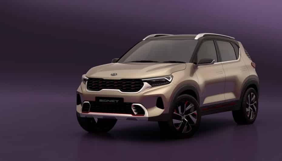Así es el Kia Sonet Concept: Quédate con su cara, es un anticipo del próximo SUV compacto global…