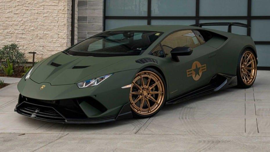 Este poderoso Lamborghini Huracán Performante con unos caballos extra está listo para la batalla