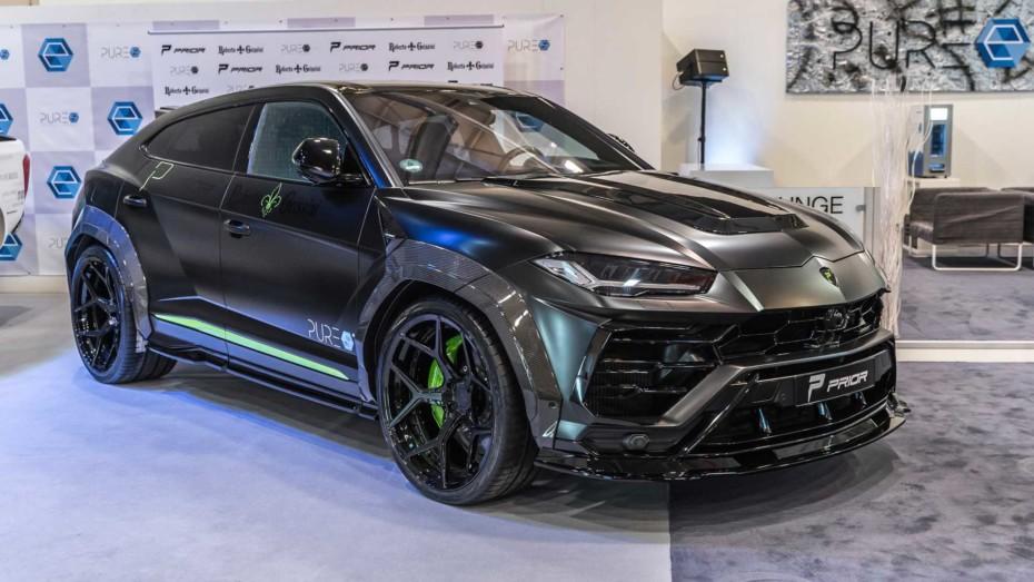 La bestia, aún más bestia: Así es el Lamborghini Urus de Prior Design