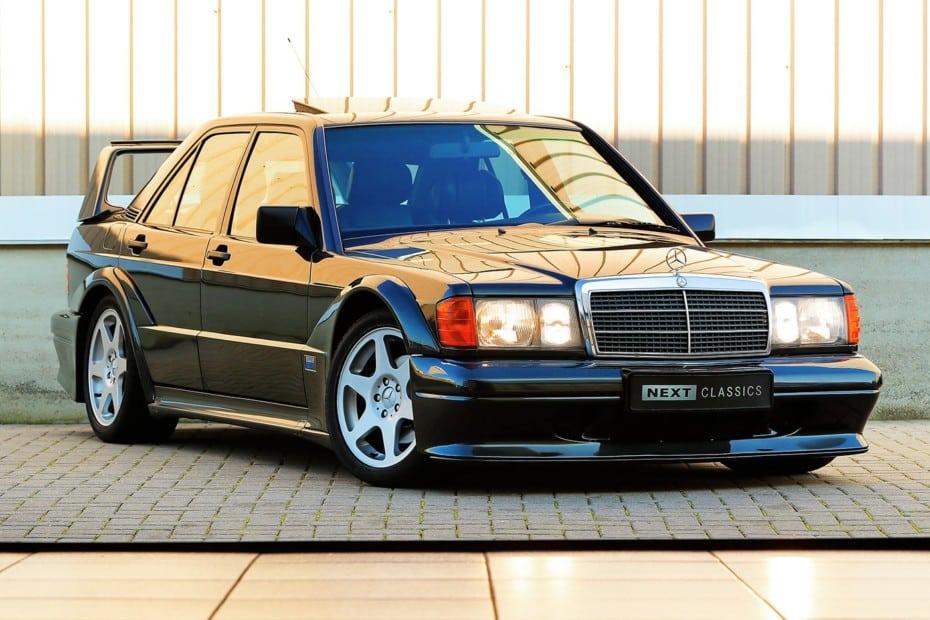 ¡Joya a la venta! Este Mercedes-Benz 190E 2.5-16 Evo II de 1990 con AMG PowerPack busca nuevo hogar