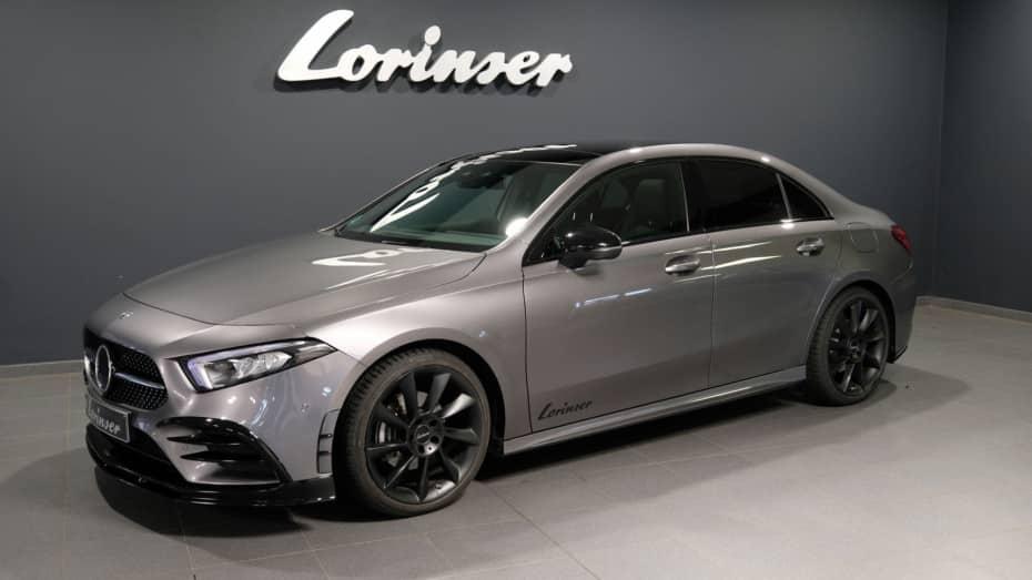 La gama del Mercedes-Benz Clase A Sedán ahora más atractiva y poderosa gracias a Lorinser