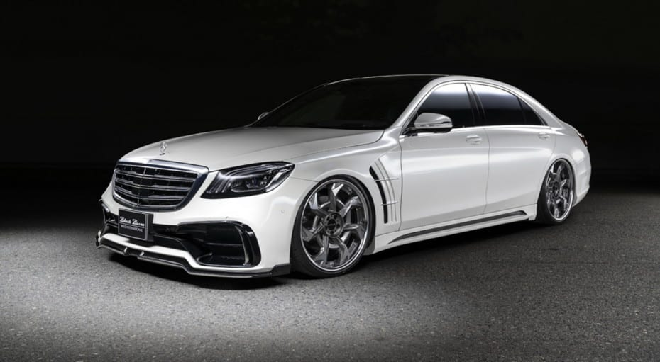 Wald International vuelve a dar la nota con este Mercedes-Benz Clase S Black Bison