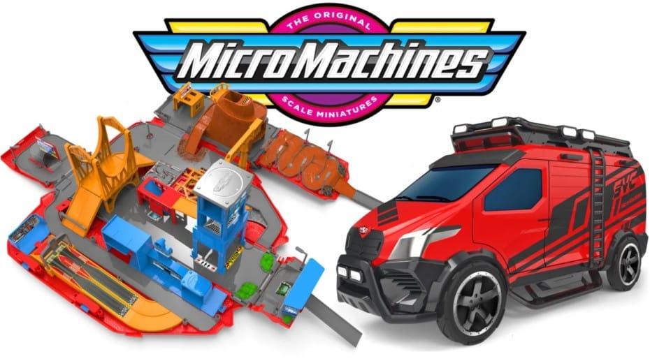 Los Micro Machines están de vuelta: ¿te acuerdas de esta mítica marca de los noventa?