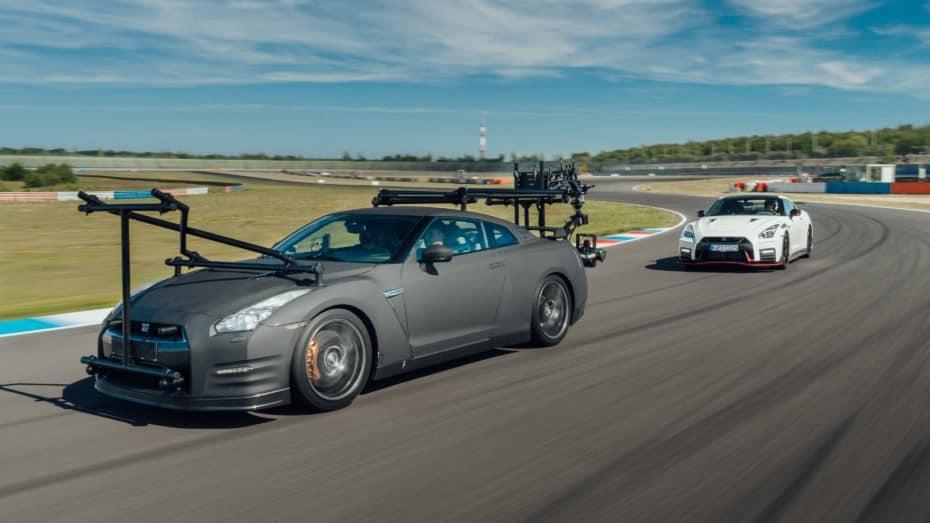 Atento a este Nissan GT-R porque es uno de los «camera cars» más rápidos del mundo