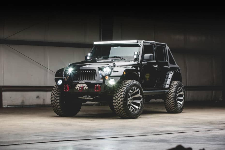 Este salvaje Jeep Wrangler es digno de los protagonistas de Zombieland