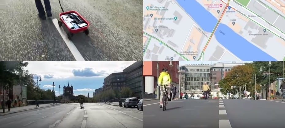 Este señor ha creado un atasco en Google Maps totalmente ficticio…