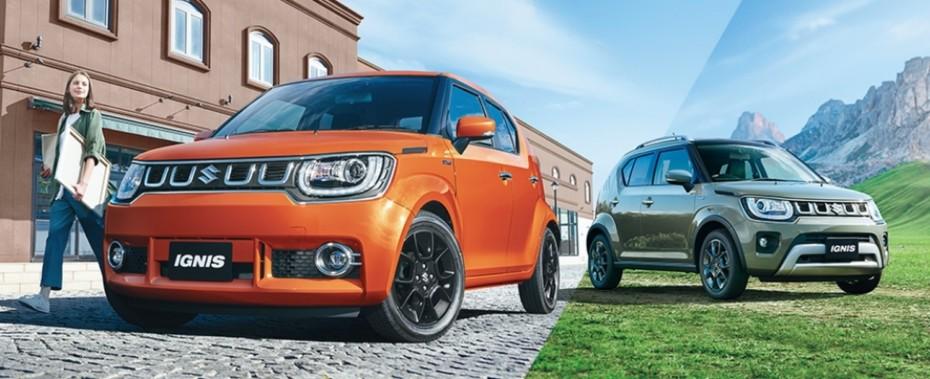 Primeras imágenes del renovado Suzuki Ignis 2020