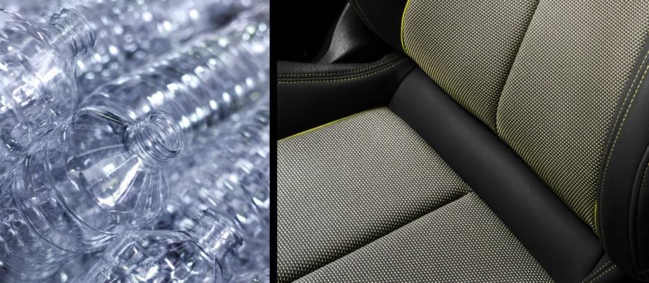¿Qué te parece esta nueva tapicería de Audi?: Hecha con botellas de plástico recicladas