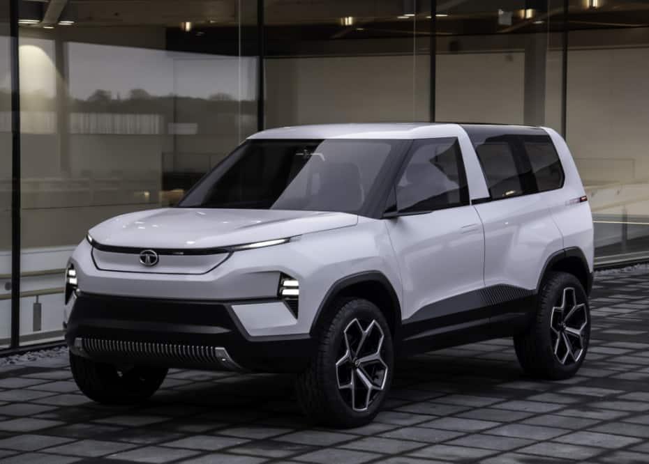 Nuevo TATA Sierra Concept: Un eléctrico muy pintón