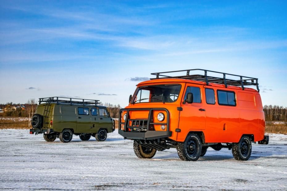 El UAZ Bukhanka estrena versión Expedition: Todo un clásico puesto al día