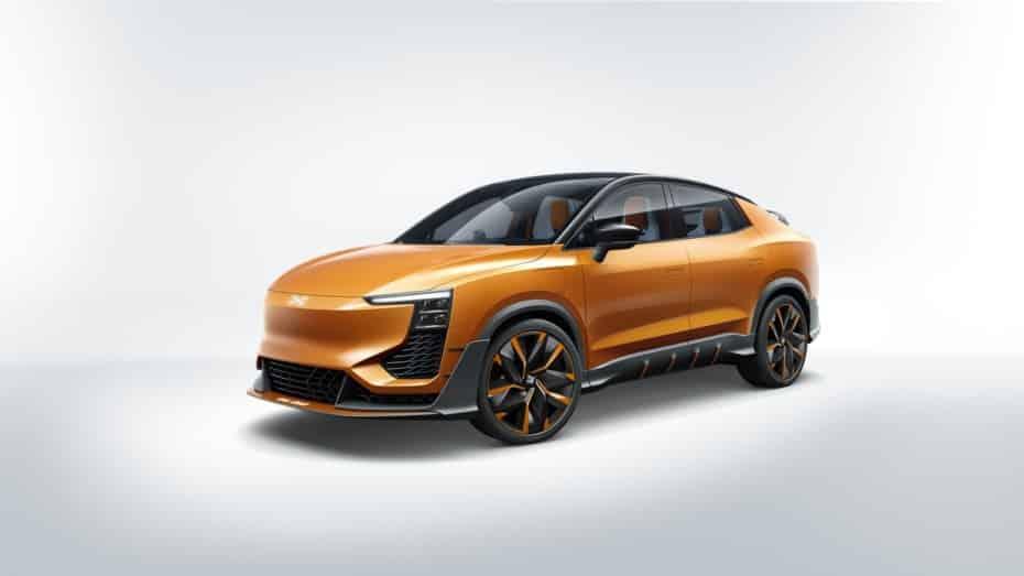 AIWAYS nos revela las primeras imágenes y detalles del U6ion: Un SUV coupé eléctrico