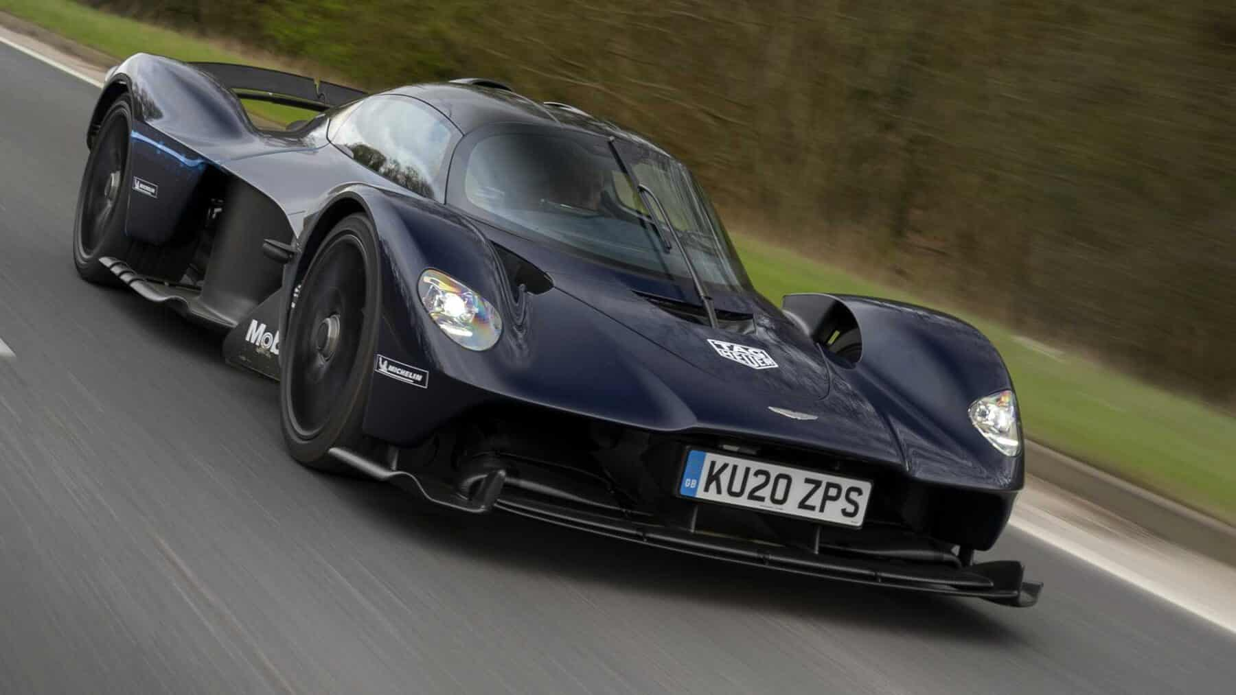 Veremos un Aston Martin Valkyrie Roadster