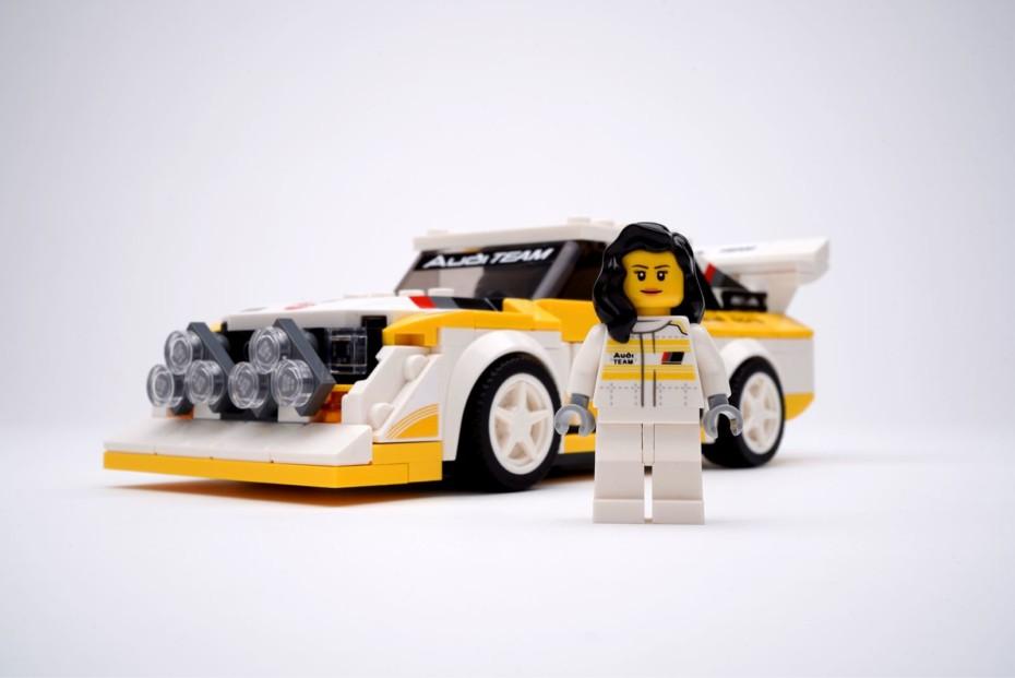 Audi y LEGO te hacen un regalo con esta curiosa campaña… #ElPilotoEsElla