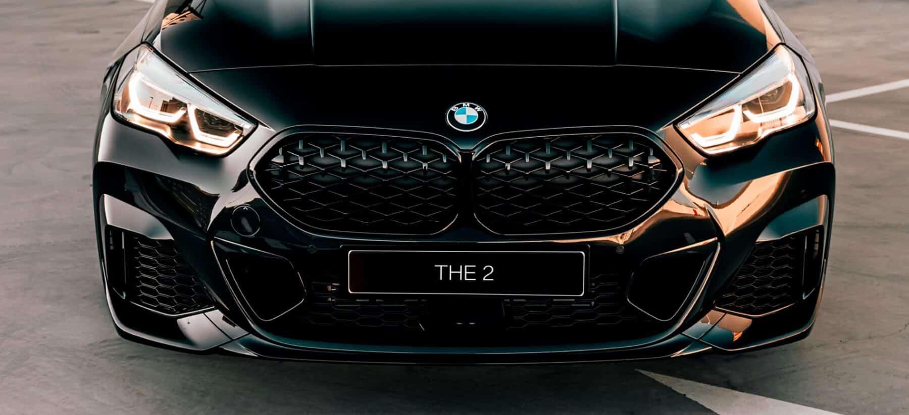 BMW Serie 2 Gran Coupé Black Edition: Solo lo puedes comprar por internet