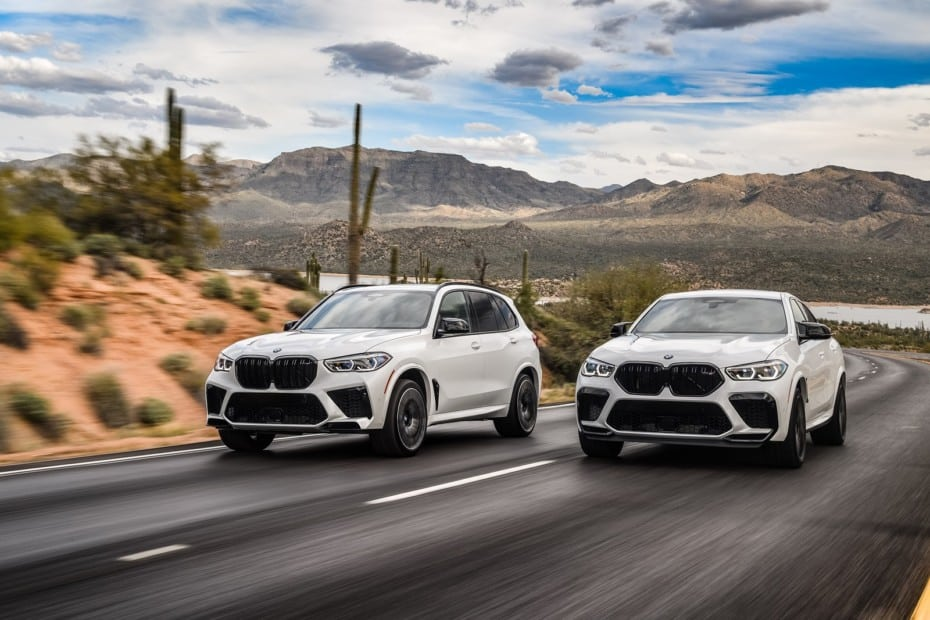Nuevas imágenes de los BMW X5 M y X6 M Competition 2020: Puro músculo con 625 CV