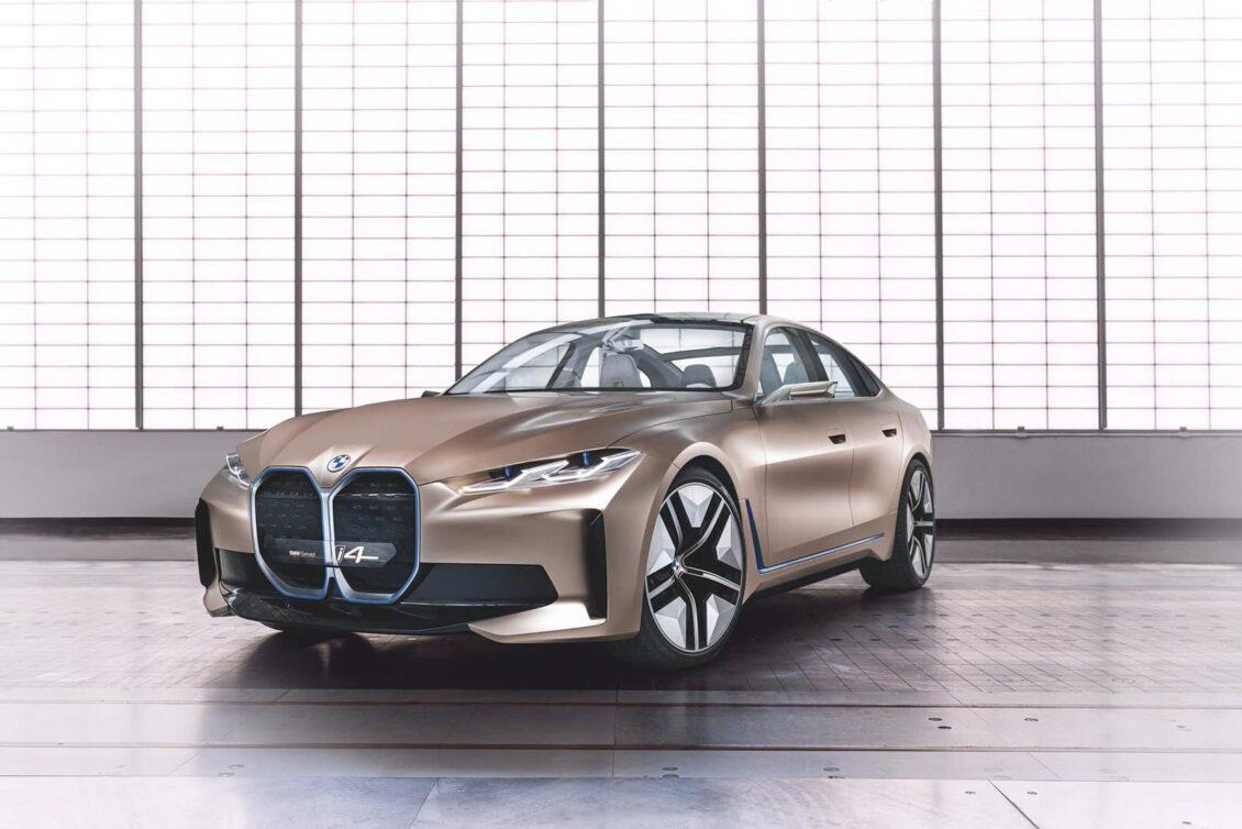 BMW Concept i4: Llegará en 2021 con 600 km de autonomía para competir con el Tesla Model 3