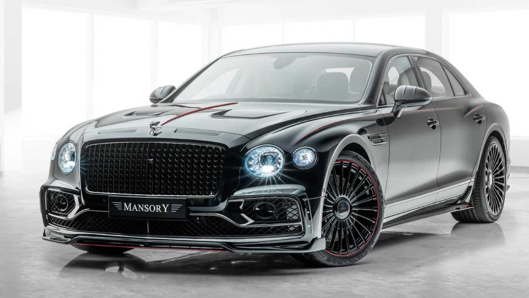 El Tuning No Le Pega A Un Bentley Pero Este Flying Spur De Mansory Con Mas De 700 Cv