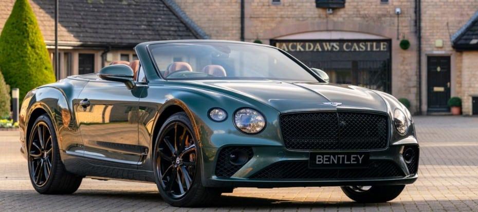 Bentley Continental GT Convertible Equestrian Edition: Postureo máximo para una unidad