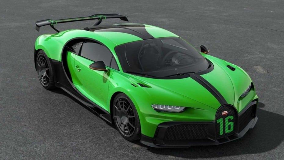 Este Bugatti Chiron Pur Sport es un autentico «Hulk»
