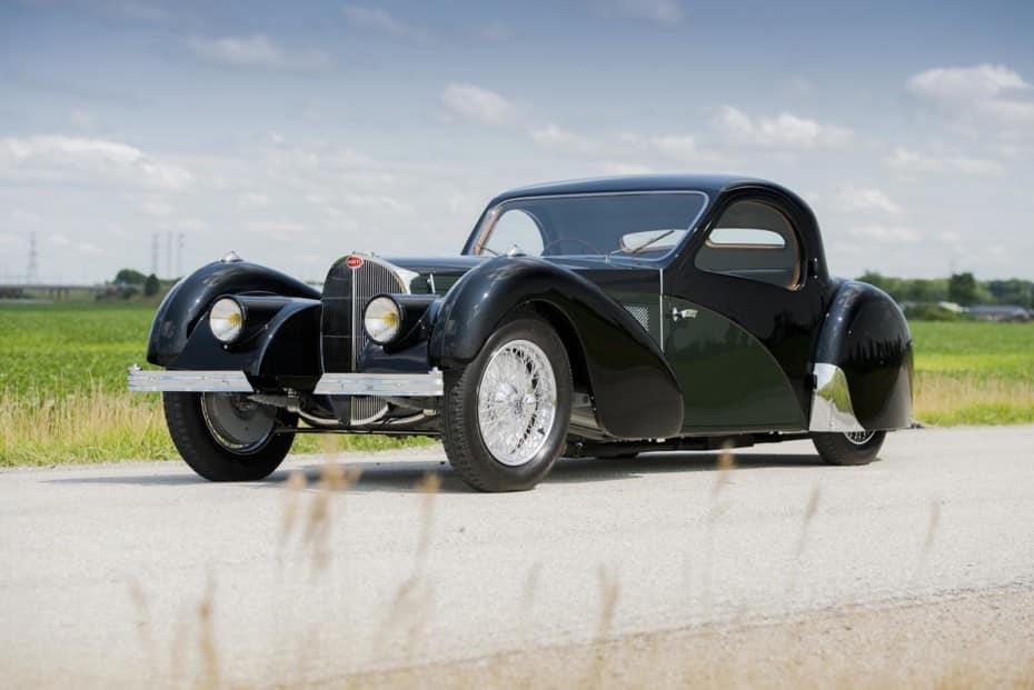 Si quieres, ahora puedes hacerte con este Bugatti Type 57SC Atalante en una «venta privada»