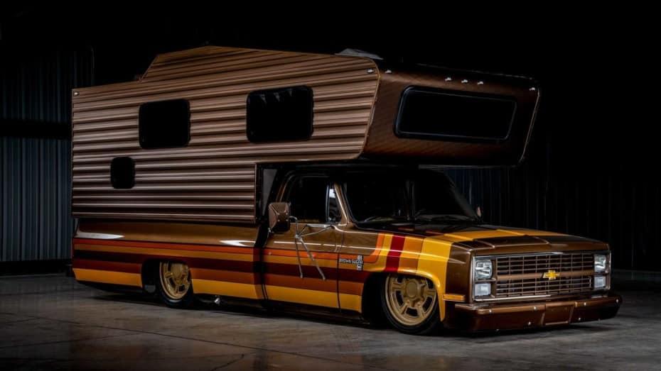 Este Chevrolet camper de los '80 es único y ahora puede ser tuyo: Ve preparando el talonario