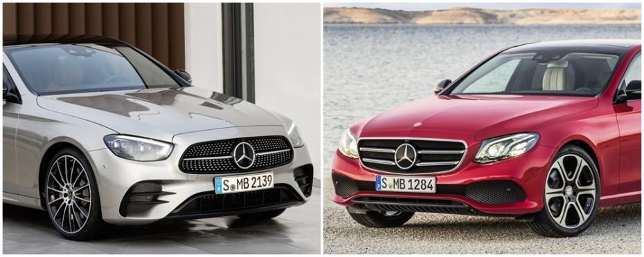 Comparación visual Mercedes-Benz Clase E 2020: ¿Qué tal le ha sentado la evolución a la berlina?