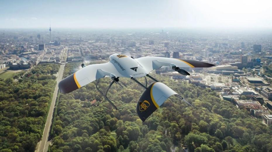 De furgonetas eléctricas a drones de entrega: UPS avanza a pasos agigantados en movilidad