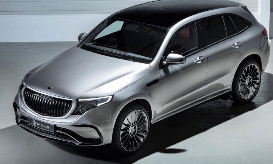 Así es el Mercedes-Benz EQC by HOFELE: Mejora notable en materiales