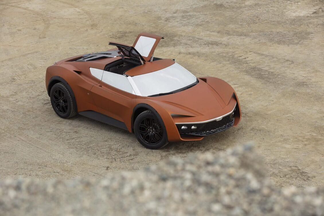 GFG Style Vision 2030 Desert Raid: Futurista, eléctrico e ideal para surcar las dunas