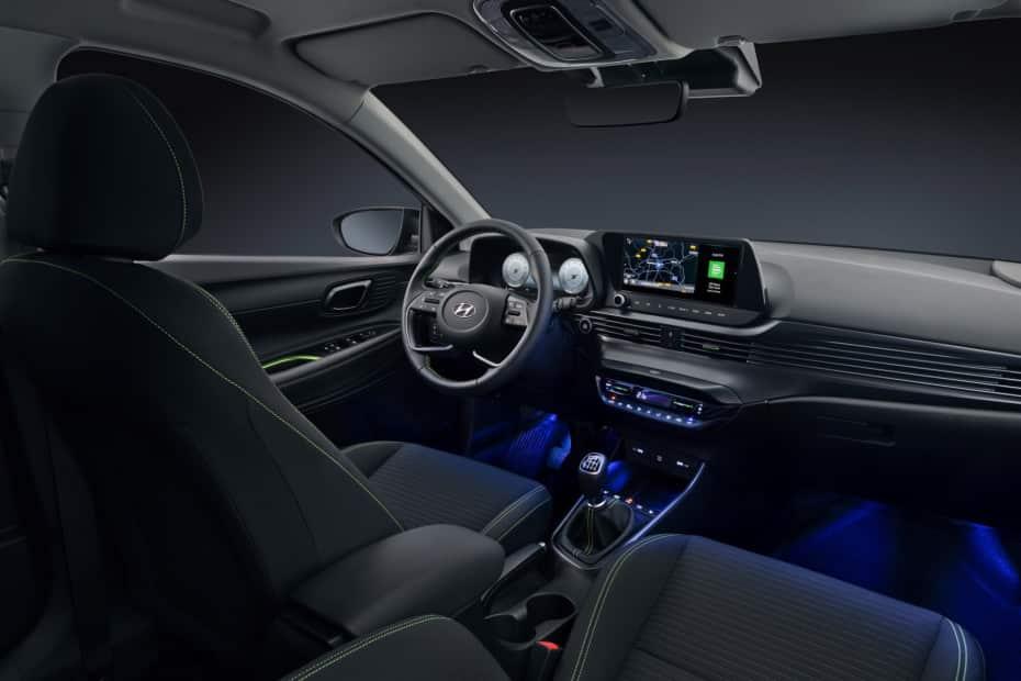 Todos los detalles del interior del Hyundai i20: Fuerte apuesta por el diseño y la tecnología