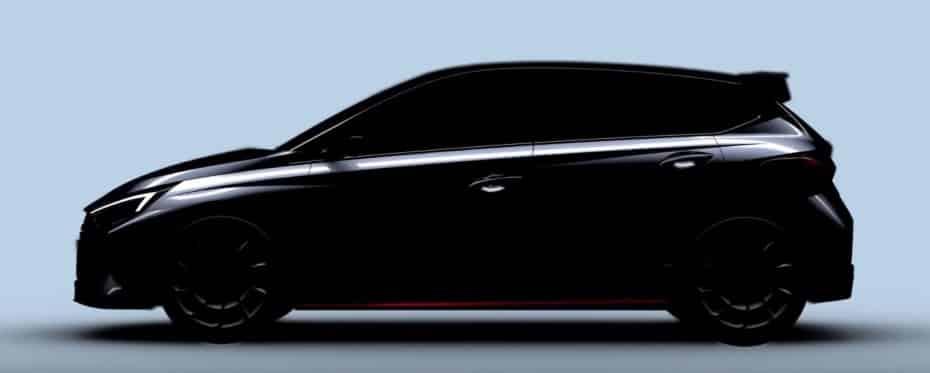 Hyundai nos revela el primer teaser del Hyundai i20 N y ya queremos conocerlo