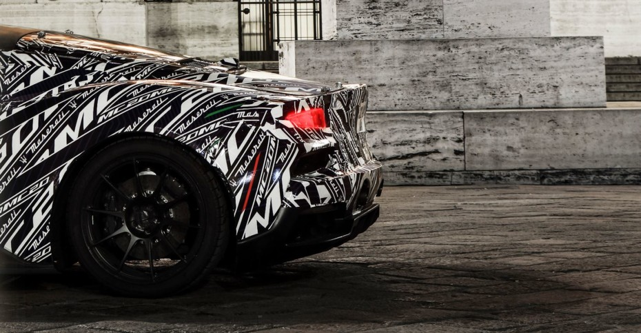 Primeras imágenes oficiales del Maserati MC20: Nos dejan con ganas