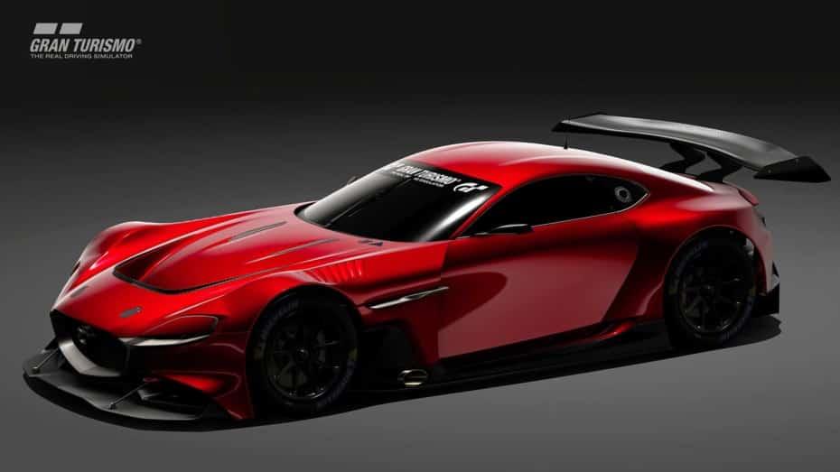 Dentro de muy poco podrás disfrutar del Mazda RX-Vision GT3 en Gran Turismo