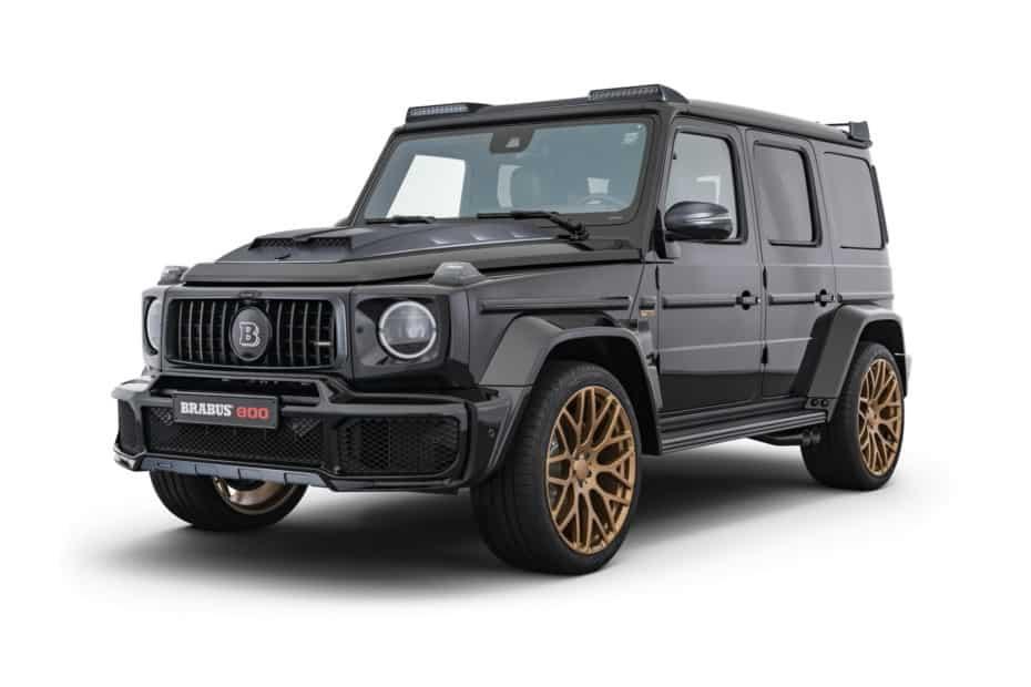 Más ancho, más lujoso y con 800 CV de potencia: Así es el BRABUS 800 Black & Gold Edition