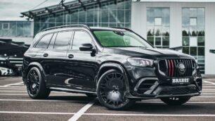 Hasta 800 CV para el mastodóntico Mercedes-Benz GLS de Brabus: una locura