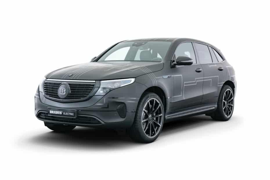 Potencia extra y un toque más siniestro para el Mercedes-Benz EQC de BRABUS