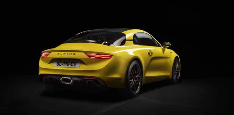 Alpine nos muestra sus novedades y su A110 en «amarillo girasol» nos vuelve locos…