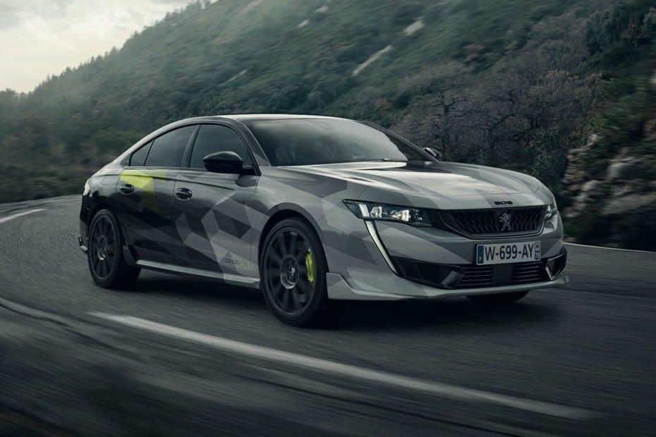 Nuevas imágenes del Peugeot 508 Sport Engineered 2020: 360 CV en formato PHEV