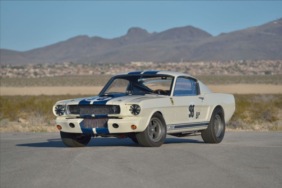A subasta este impresionante Shelby 5R002 pilotado por Ken Miles: Seguramente alcanzará un nuevo récord