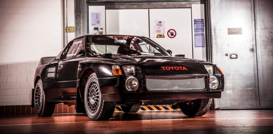 Toyota MR2 WRC (222D) «Black Beast»: Cuando a los japoneses se les fue la pinza…