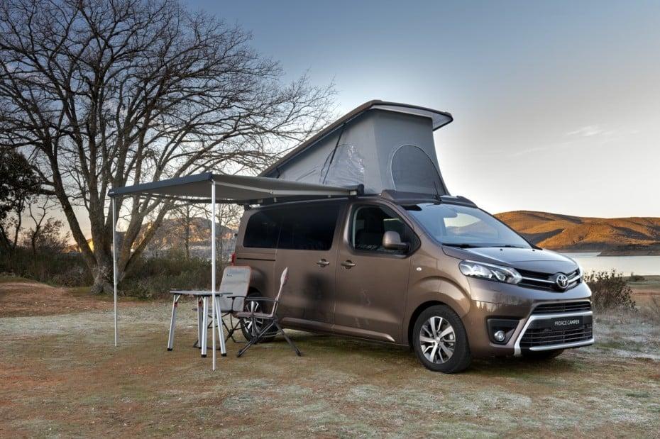 Toyota Proace Verso Camper Nomad Plus Home 2020: La versión más equipada llega a precio ajustado