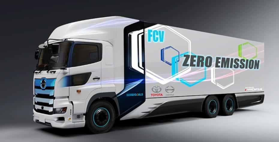 Toyota ya tiene casi listo su camión de hidrógeno: 600 km de autonomía…
