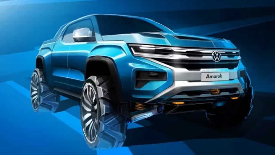 El Volkswagen Amarok estrenará generación en 2022 y tendrá mucho de Ford Ranger